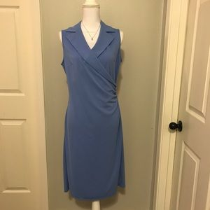 Express Collared Sleeveless Dress